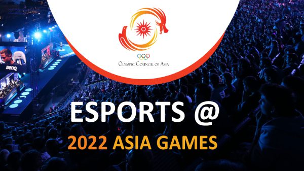Esports to debut at the 2022 Asian Games as an official medal sport
